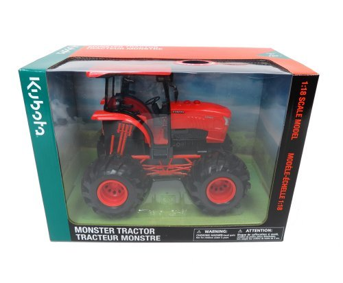 New-Ray-118-Kubota-Farm-Tractor