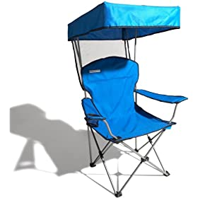 Strathwood Folding Canopy Chair