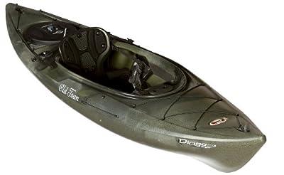 01.6820.1050 Old Town Canoes & Kayaks Johnson Outdoors Watercraft Dirigo 106 Angler Recreational Camouflage 10ft 6in Fishing Kayak