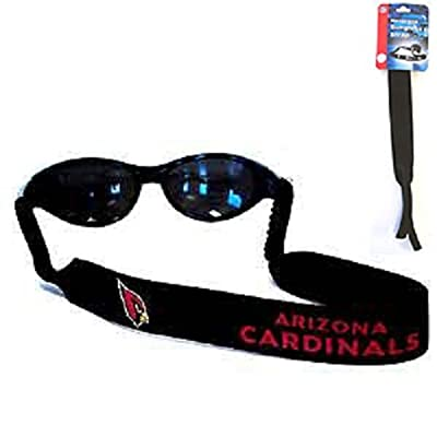 Arizona Cardinals Neoprene Strap Holder Croakies for Sunglasses or Eyeglasses Officially Licensed NFL Football Team Logo