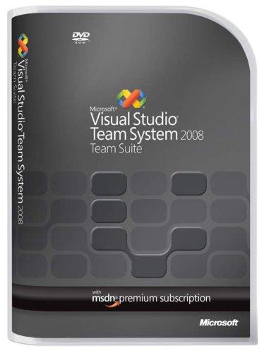 Microsoft Visual Studio Team Suite 2008 Renewal w/MSDN Premium