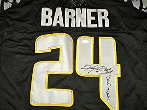Kenjon Barner Carolina Panthers Signed Oregon Ducks Jersey Jersey #3 - JSA Certified... by Sports+Memorabilia