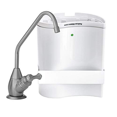 Pelican Water PDF-UC-BN Undercounter Drinking Water Filtration and Purification System with Dispenser, Brushed Nickel (Sink Mounted Water Dispenser compare prices)