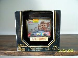 Jeff Gordon Racing Champions #24 1993 Limited Edition Car