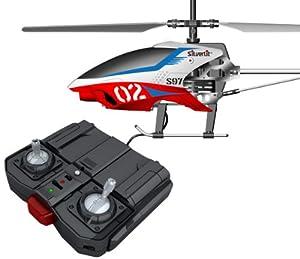 84597 Silverlit Sky Unicorn ferngesteuert 3-Kanal Helikopter Infrarot mit Gyro, farblich sortiert