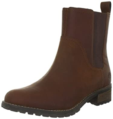 Timberland Women's Bethel Chelsea Medium Brown Ankle Boots 3352R 7 UK