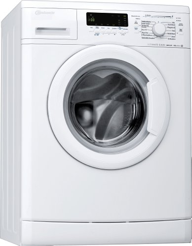 Bauknecht WA Eco Star 84 PS Waschmaschine Frontlader / A+++ B / 1400 UpM / 8 kg / Weiß / UltimateCare Schontrommel / AquaEco / Big window / unterbaufähig