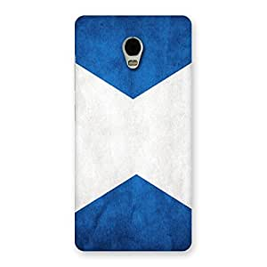 Delighted X Fin Blue Back Case Cover for Lenovo Vibe P1