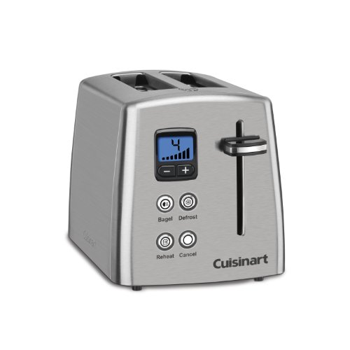 Find Cheap Cuisinart CPT-415 Countdown 2-Slice Stainless Steel Toaster