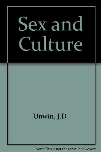 SEX AND CULTURE: J.D. UNWIN: Amazon.com: Books