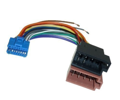 1140 Pioneer DIN ISO Auto Radio Adapter Kabel Stecker AVIC X1 AVIC X1BT AVIC X1R