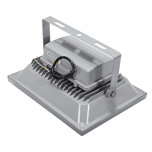 MountainNet 50W Spot lampe sécurité Projecteur Extérieur étanche 1600LUM Blanc Laver