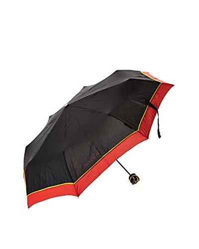 Braccialini Paraguas  Negro / Rojo