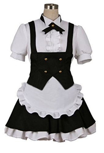 Vicwin-One Is the Order a Rabbit? Kirima Sharo Maid Suit Cosplay Costume