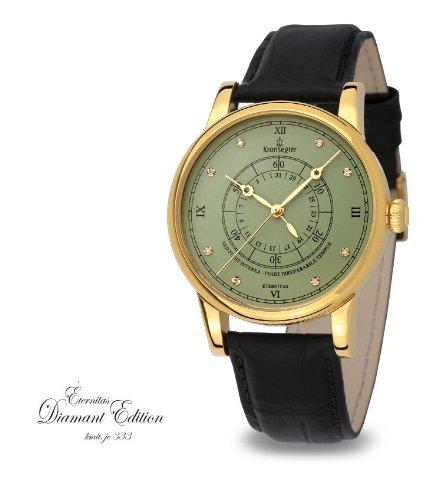 Kronsegler Eternitas Diamond Men's Watch Diamond gold-pacific
