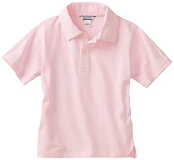 Kitestrings little boys 39 toddler oxford short for Baby pink polo shirt