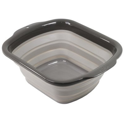 Collapsible Dish Pan Color: Gray
