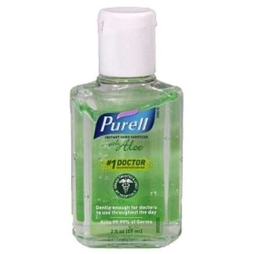 Purell Instant Hand Sanitizer With Aloe - 2 Oz front-930392