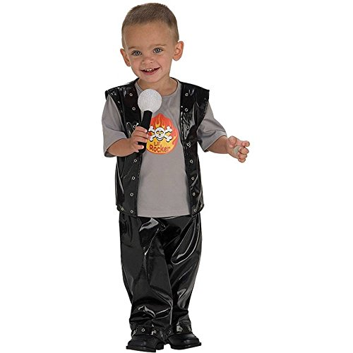 Cutie Rock Star Kids Costume - Small 4-6