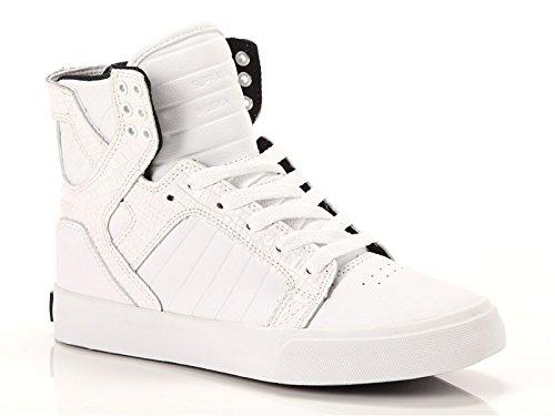 Supra - Supra, sneakers a collo alto  da uomo, (croco), 39