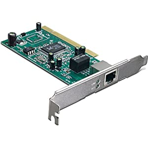 TRENDnet 10/100/1000 Mbps 32-Bit Gigabit PCI Adapter Card, TEG-PCITXR