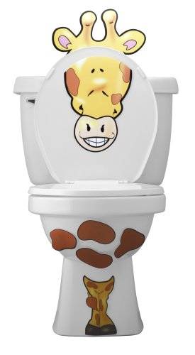 Toilet Buddy Giraffe Decoration and Potty Training Aid - 1
