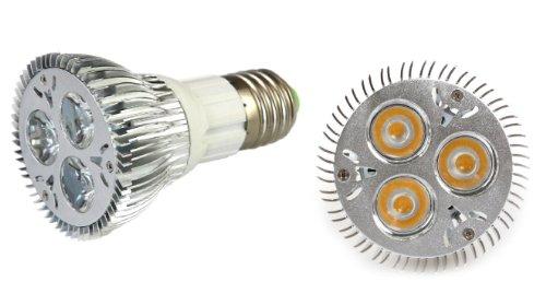 Lemonbest® Dimmable 9W E27 Socket Par20 Led Spot Light 110V-240V, Pack 10, Warm White