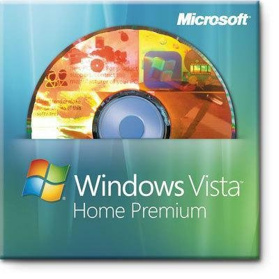New Microsoft Oem Software Windows Vista Home Premium Includes Service Pack 2 32-Bit 1 Pc English