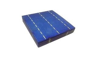 MISOL 20 pcs of Poly Solar Cell 6x6 4.14w, GRADE A, polycrystalline cell, DIY solar panel, for DIY solar module