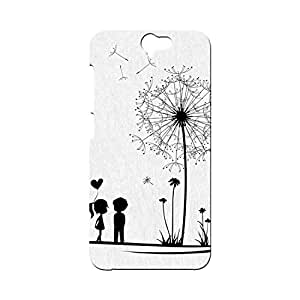 BLUEDIO Designer Printed Back case cover for HTC One A9 - G5310