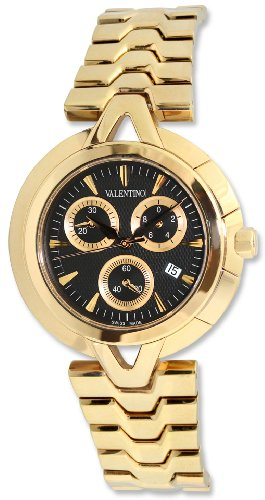 Valentino V-Valentino Chronograph Rose Gold Plated Steel Mens Casual Watch V51LCQ9909-S099-GP