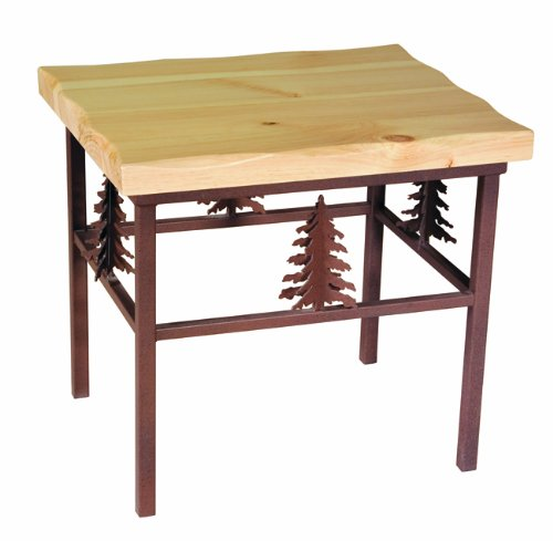 Cheap 3-D Tree End Table in Pine Wood (B001KD1KWI)