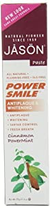 Jason Powersmile Toothpaste, Cinnamon Powermint, 6 Ounce (Pack of 3)
