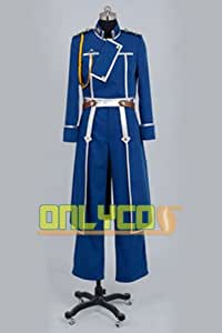 FullMetal Alchemist Roy Mustang Cosplay Uniform Costume.Male size