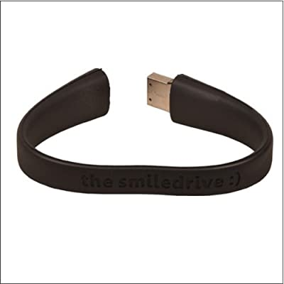 16GB FANCY DESIGNER WRISTBAND USB PENDRIVE (BLACK)