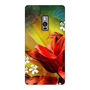 Beautiful Flowers Design Back Case Cover for OnePlus Two
