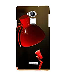 printtech Funny Lamp Family Back Case Cover for Coolpad Note 3 Lite