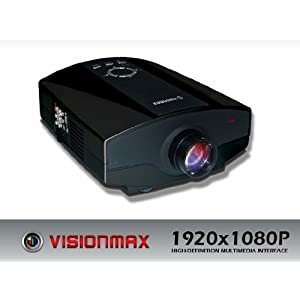 Visionmax Digital LCD Projector 1920x1080P Model:HD-4K