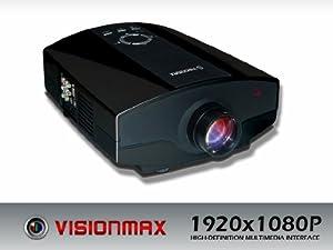 Visionmax Digital LCD Projector 1920x1080P Model:HD-4K