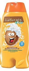 Avon Naturals Crazy Coconut Kids Shampoo & Conditioner 8.4 oz (250 ML)