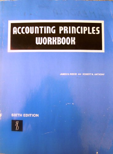 Accounting Principles Workbook