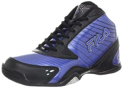 Fila Men's DLS Stealth Basketball Shoe,Turkish Sea/Black/Silver,6.5 M US