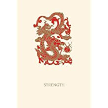 Graphique - Strength Dragon Boxed Notes, 4.25 x 5.5 Inches, Cream (L805CB)