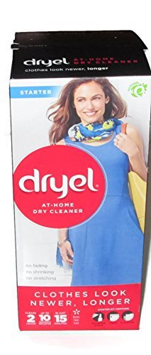 Dryel At-Home Dry Cleaner Starter Kit Cleans 10 Garments in 15 Minutes (Dry Cleaner Starter Kit compare prices)