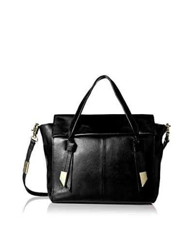 Foley + Corinna Women's Trillion Satchel, Jet Black As You See