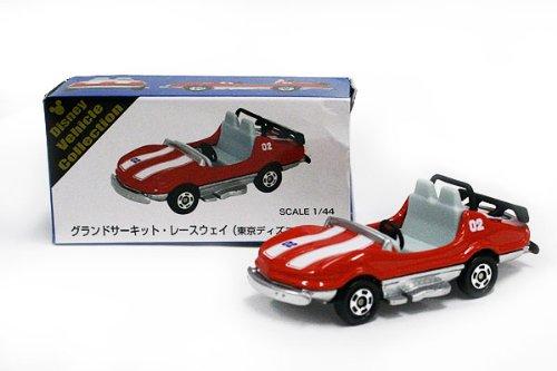 TOMYトミカ【オリジナルトミカ】Disney vehicle collectionグランドサーキット・レースウェイ《赤》『東京ディズニーリゾート限定』