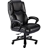 Staples Glenvar Bonded Leather Big & Tall Manager Chair