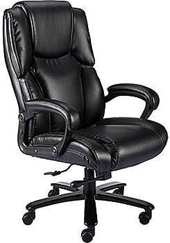 Staples Glenvar Bonded Leather Manager Chair