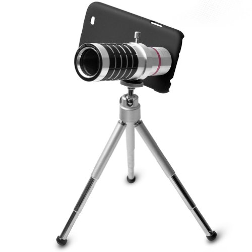 E-Prance 100% Brand New Aluminum Alloy 16X Telephoto Zoom Lens Set For Iphone/ Nokia 920/ Sony Z/ Samsung 7100 S3 S4