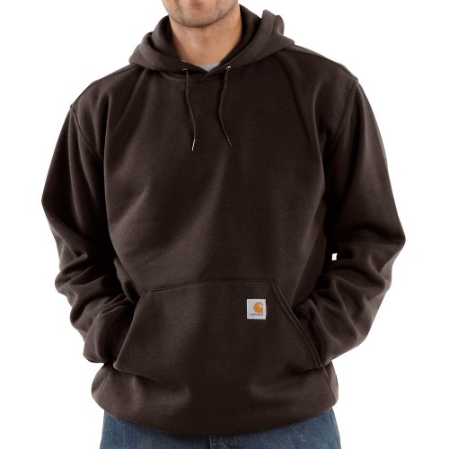 Carhartt Midweight Hooded Sweatshirt Dark Brown M,L,XL,XXL Mens